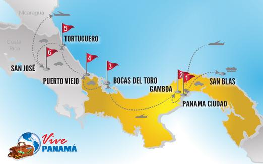 Viajes a Panama | Circuito combinado Costa Rica