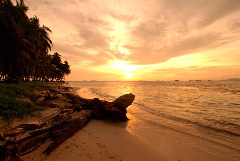Viajes a Panama | Puesta de sol en San Blas