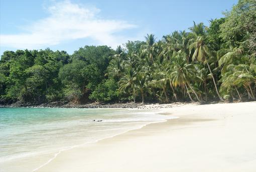 Playas de Panama   Playa de la Isla Gamez