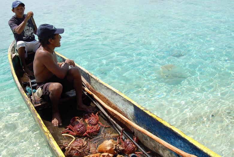 Viajes a Panama | Pescadores en el Caribe